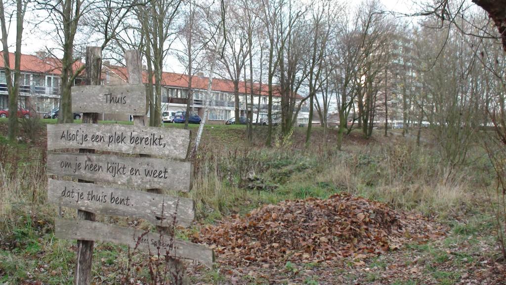 bladeren in het Eetbaar Park bij de Oosterhoeve
