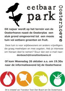 Uitnodiging 26 oktober