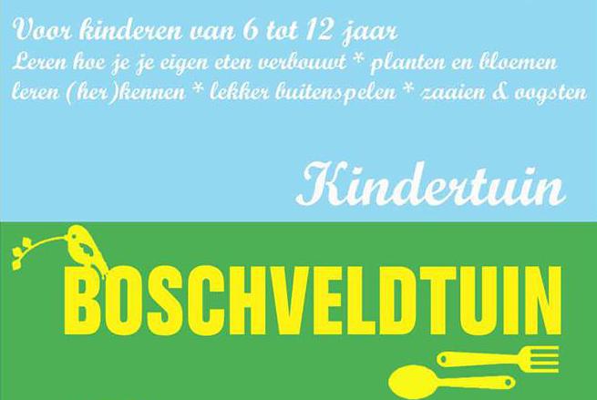 Open de pagina met meer informatie over de Kindertuin