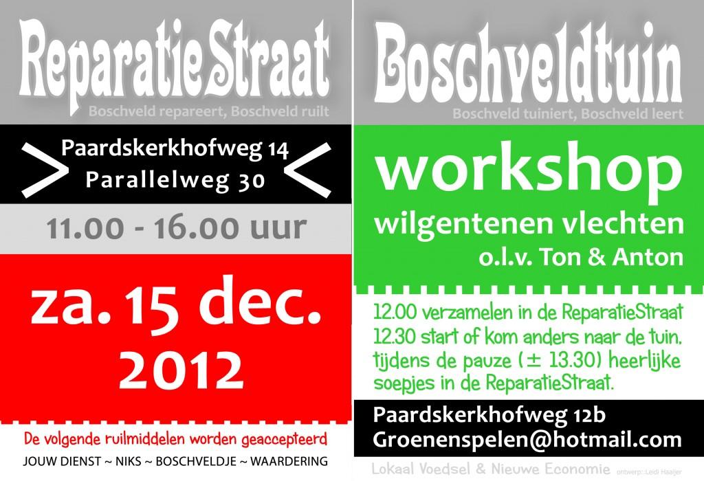 Huisaanhuis flyer ReparatieStraat & Boschveldtuin dec.2012
