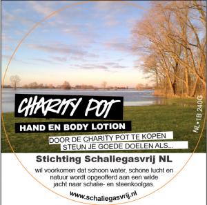 Campagne tegen schaliegasboringen in Nederland ondersteund door Lush-winkelketen