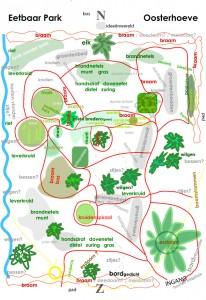 Verloop vd ontwikkeling vh Eetbaar Park okt.2012